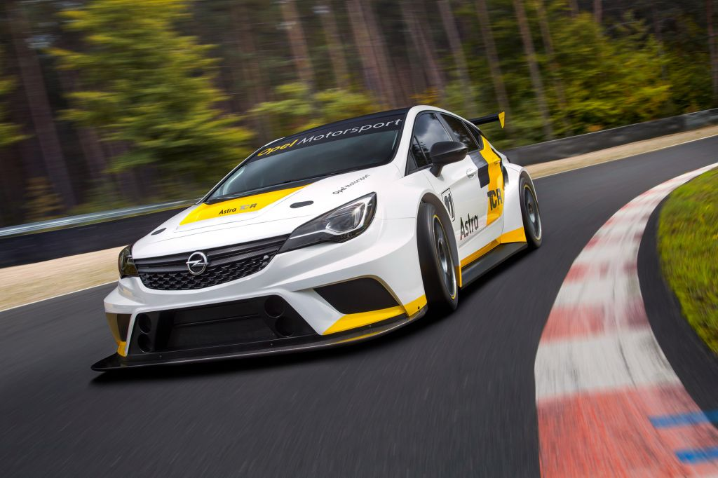 OPEL ASTRA (K) TCR compétition 2016