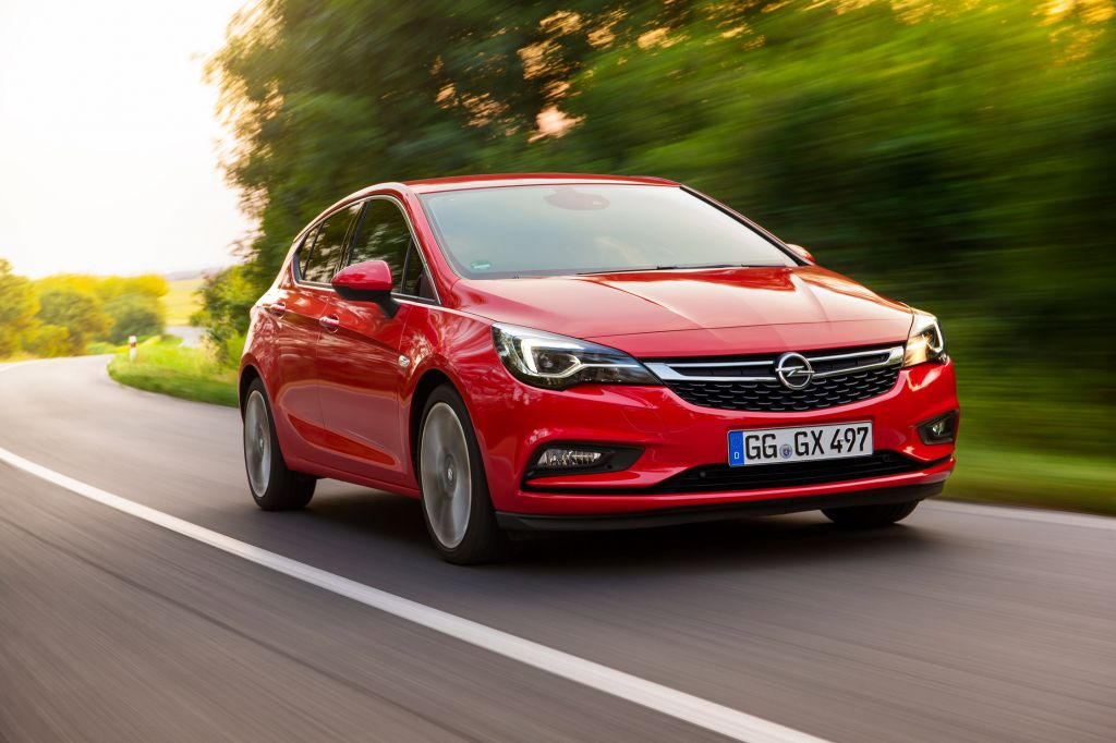 OPEL ASTRA (K) Turbo 1.6 200 ch berline 2015