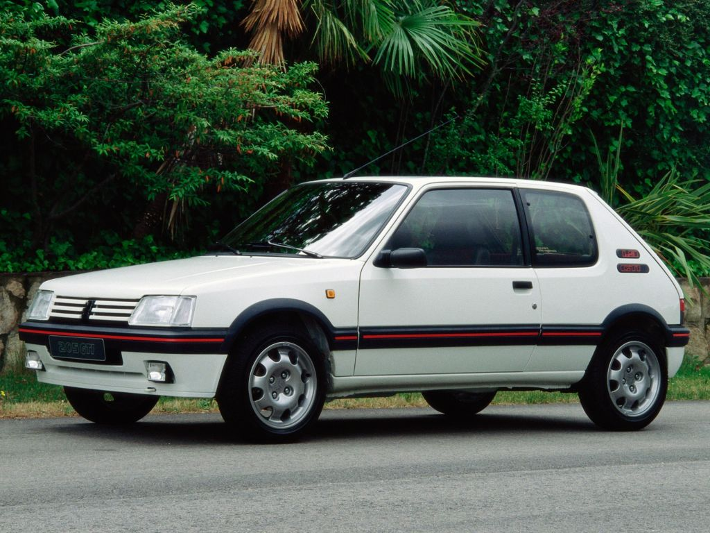 photo peugeot 205 gti 1 9 130 coup 1991 m diatheque. Black Bedroom Furniture Sets. Home Design Ideas
