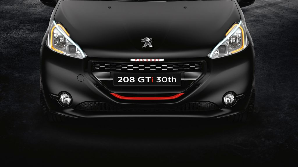 PEUGEOT 208 (I) GTI 30th coupé 2014