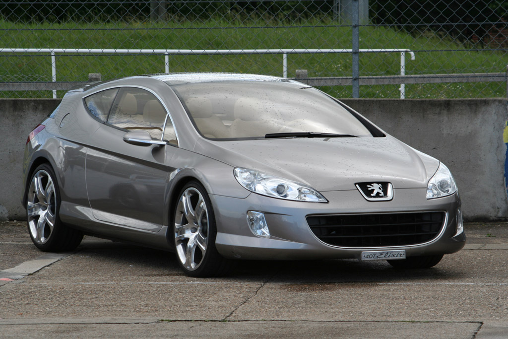 Photo Peugeot 407 M 233 Diatheque Motorlegend Com