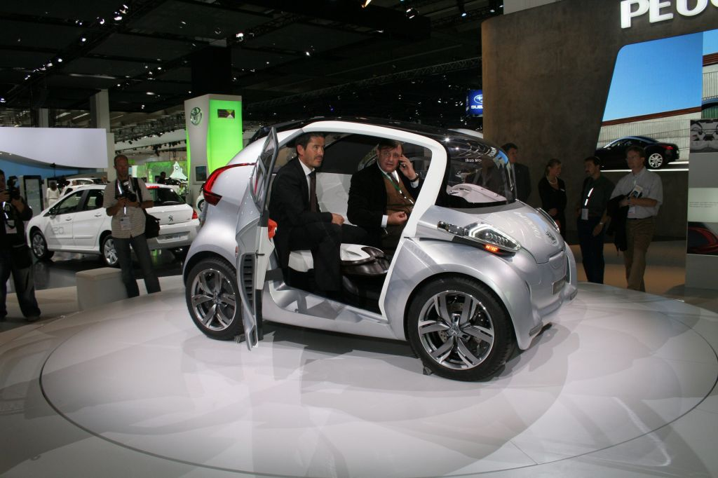 Photo Peugeot Bb1 Concept Concept Car 2009 Mdiatheque Motorlegend
