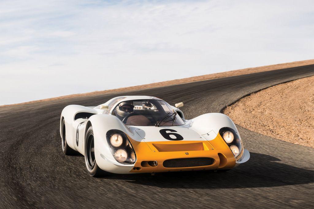 Photo Porsche 908 Works Short Tail Coupe Comp 233 Tition 1968