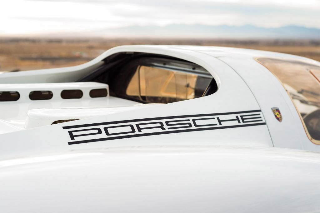 PORSCHE 908 Works Short-Tail Coupe compétition 1968