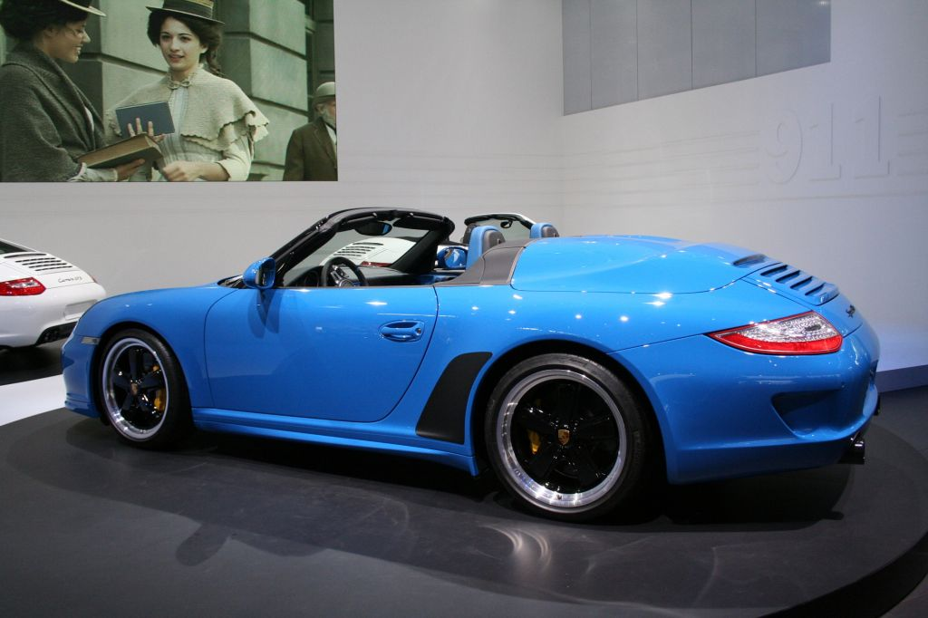 Photo Porsche 911 997 Speedster Cabriolet 2010