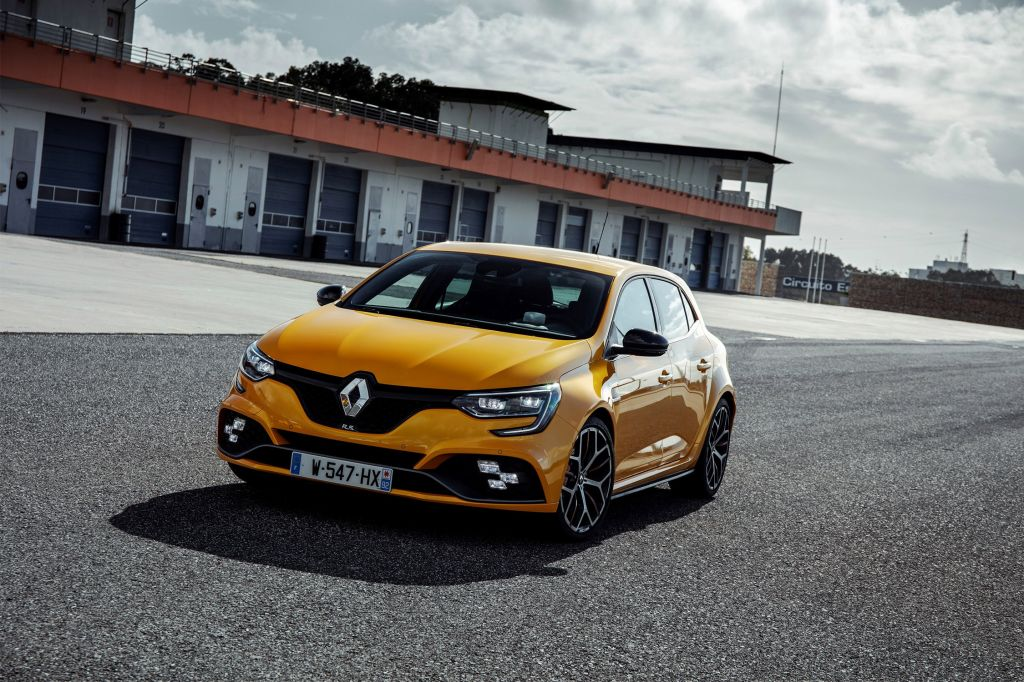 RENAULT MEGANE (4) RS Trophy 1.8 300 ch berline 2018