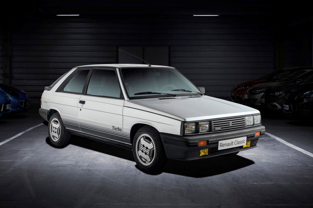 RENAULT R11 Turbo coupé 1984