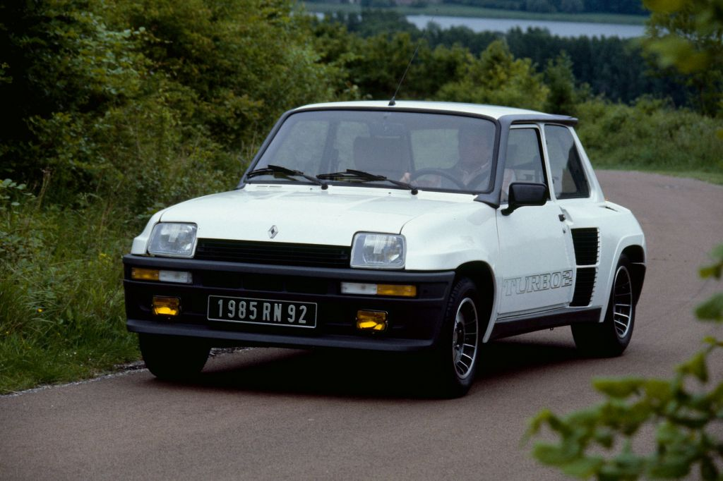 photo renault r5 turbo2 1 4 coup 1985 m diatheque. Black Bedroom Furniture Sets. Home Design Ideas