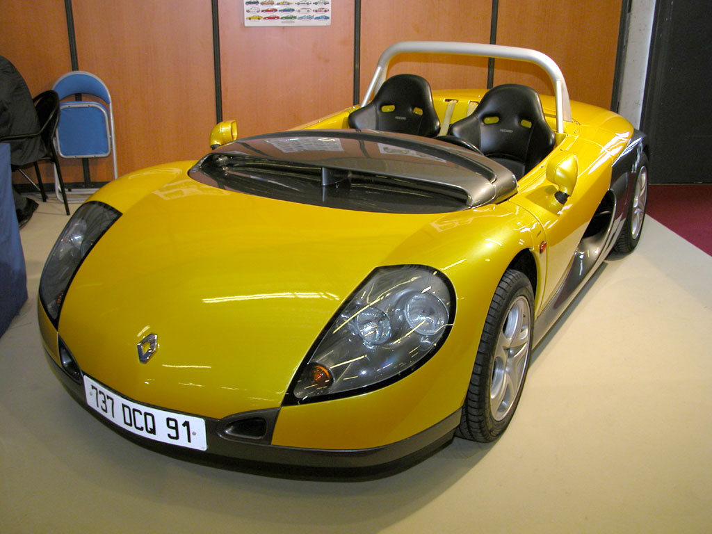 diginpix entity renault spider. Black Bedroom Furniture Sets. Home Design Ideas