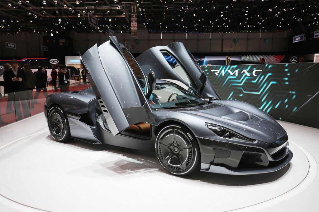 RIMAC C_TWO  coupé 2018