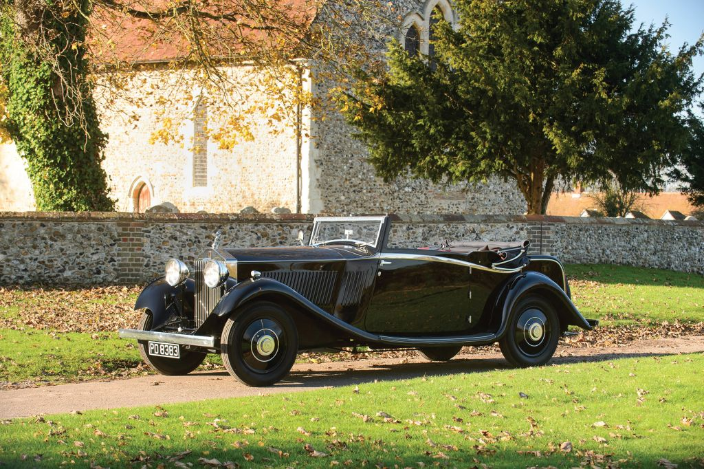 ROLLS-ROYCE 20/25 HP Three-Position Drophead Coupé by Barker cabriolet 1933