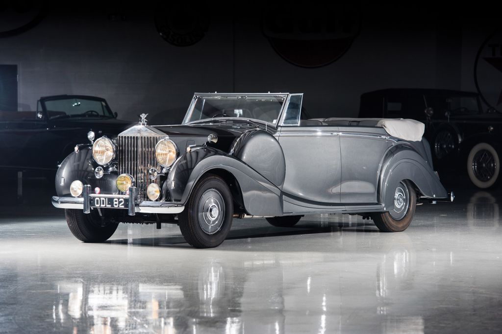ROLLS-ROYCE PHANTOM (III) All-Weather Tourer by H.J. Mulliner cabriolet 1938