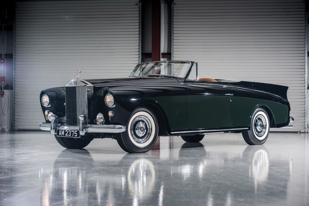 ROLLS-ROYCE SILVER CLOUD (I) Drophead Coupe Honeymoon Express by Freestone & Webb cabriolet 1958