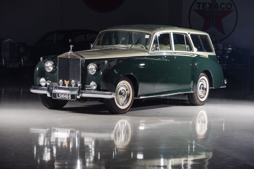 ROLLS-ROYCE SILVER CLOUD (I) Estate Car by H.J. Mulliner and Radford break 1959