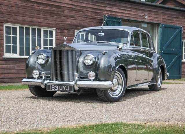 Photo Rolls Royce Silver Cloud Ii Saloon Berline 1961