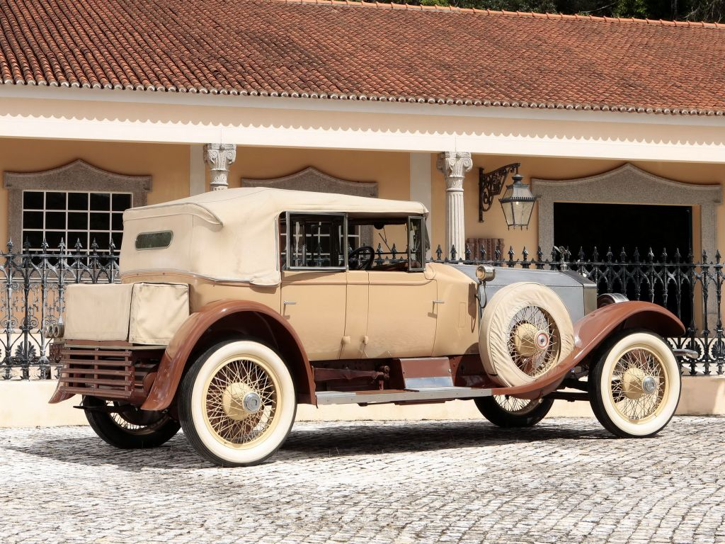 ROLLS-ROYCE SILVER GHOST 40/50 HP cabriolet 1925