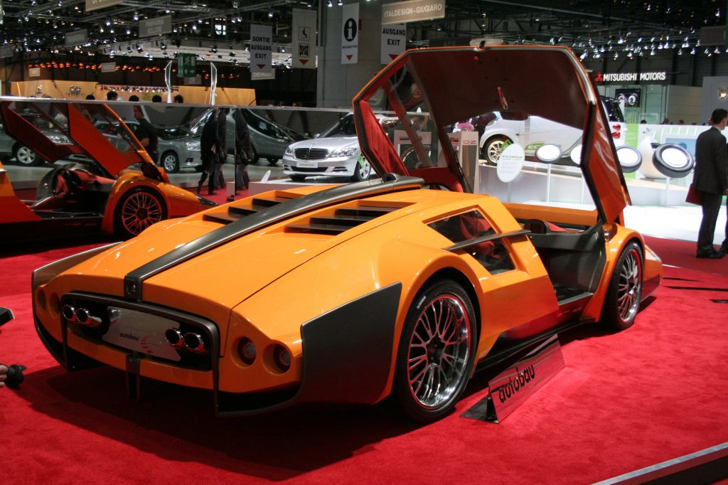 Photo Sbarro Autobau Concept Concept Car 2010