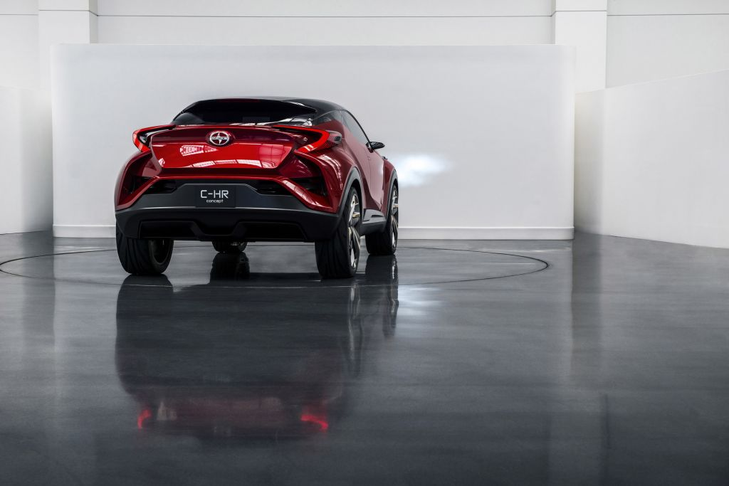 SCION C-HR Concept concept-car 2015