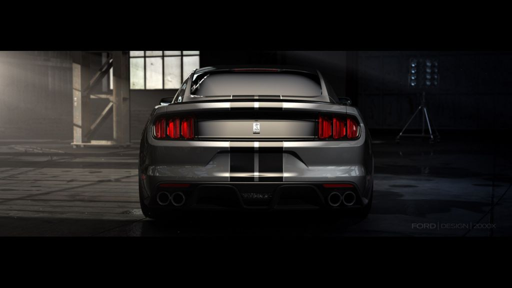 SHELBY MUSTANG GT350 coupé 2015