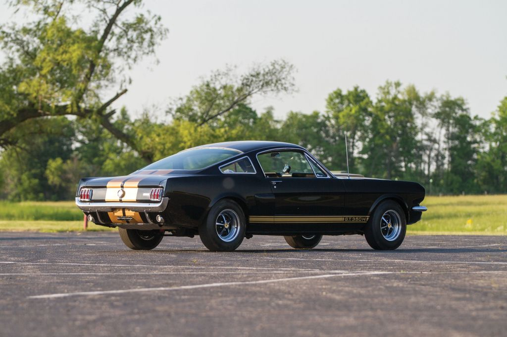 SHELBY MUSTANG GT350 coupé 1966