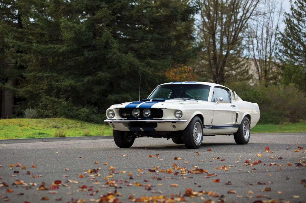SHELBY MUSTANG GT500 coupé 1967
