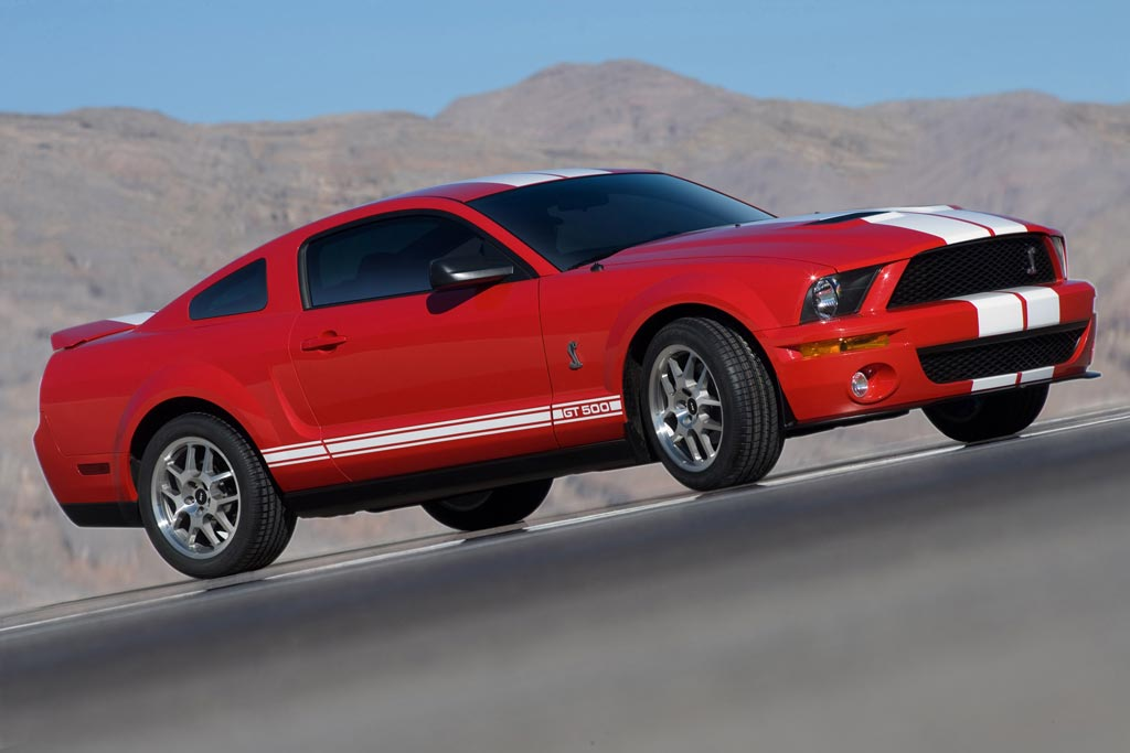 SHELBY MUSTANG GT500 coupé 2006
