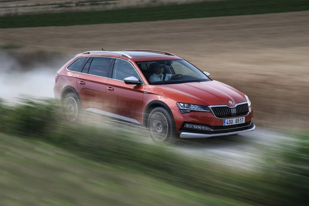 SKODA SUPERB (III) Scout 2.0 TSI 272 ch break 2019
