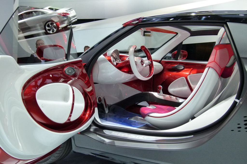 SMART FORSTARS Concept concept-car 2012