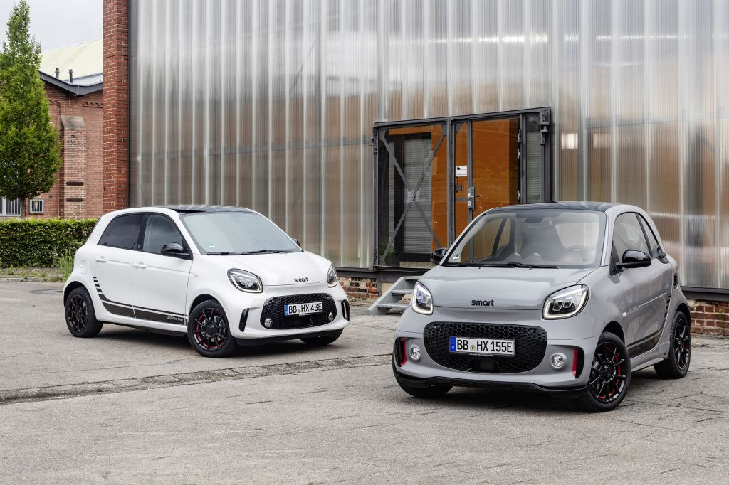 Smart EQ Fortwo et Forfour