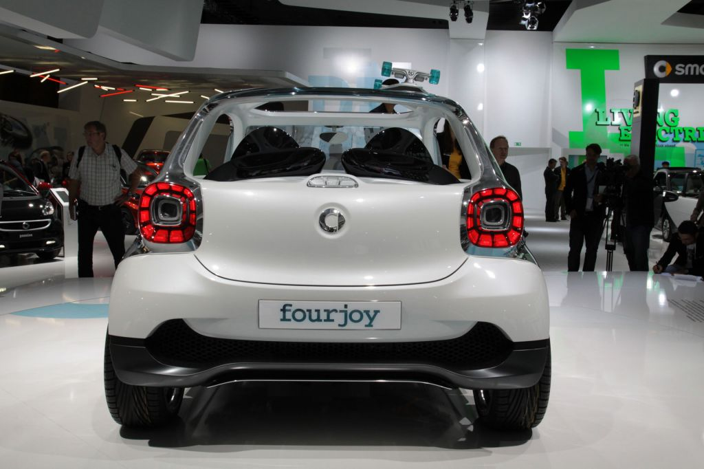 SMART FOURJOY Concept concept-car 2013