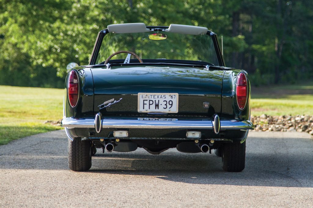 SUNBEAM TIGER Mark 2 cabriolet 1967