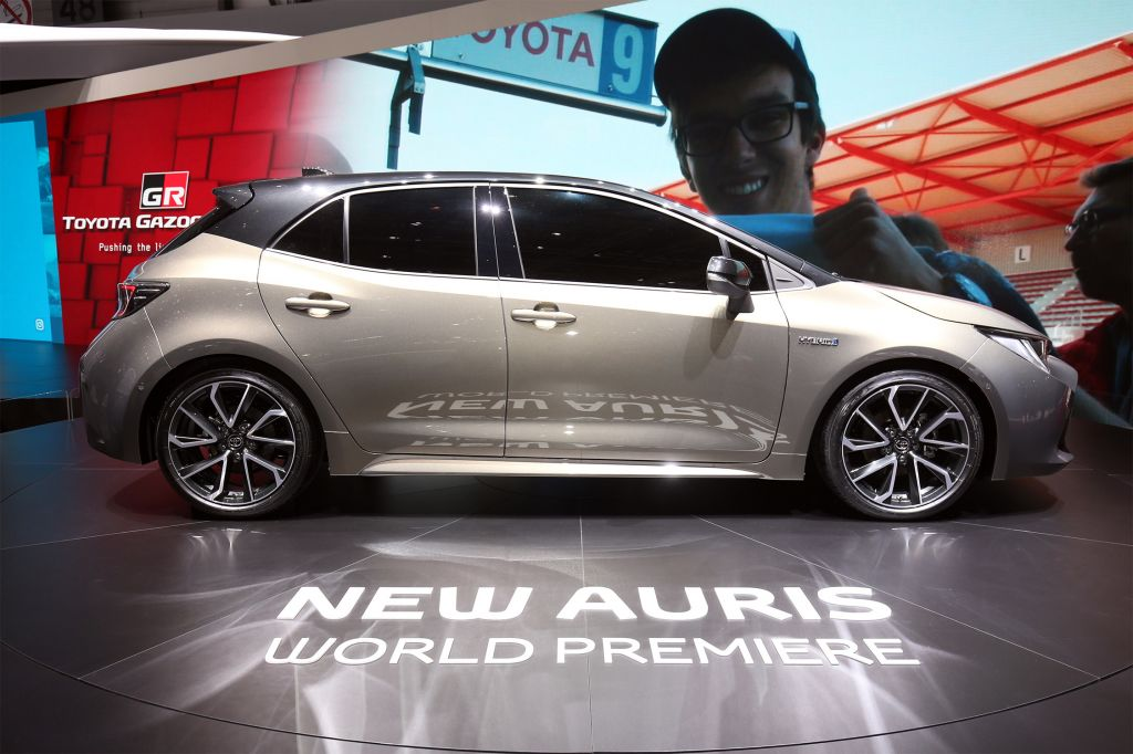TOYOTA AURIS (III)  berline 2018