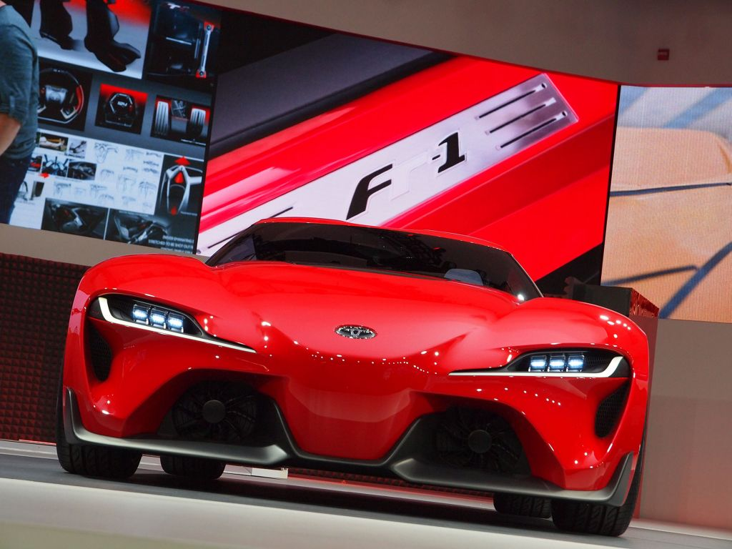TOYOTA FT-1 Concept concept-car 2014