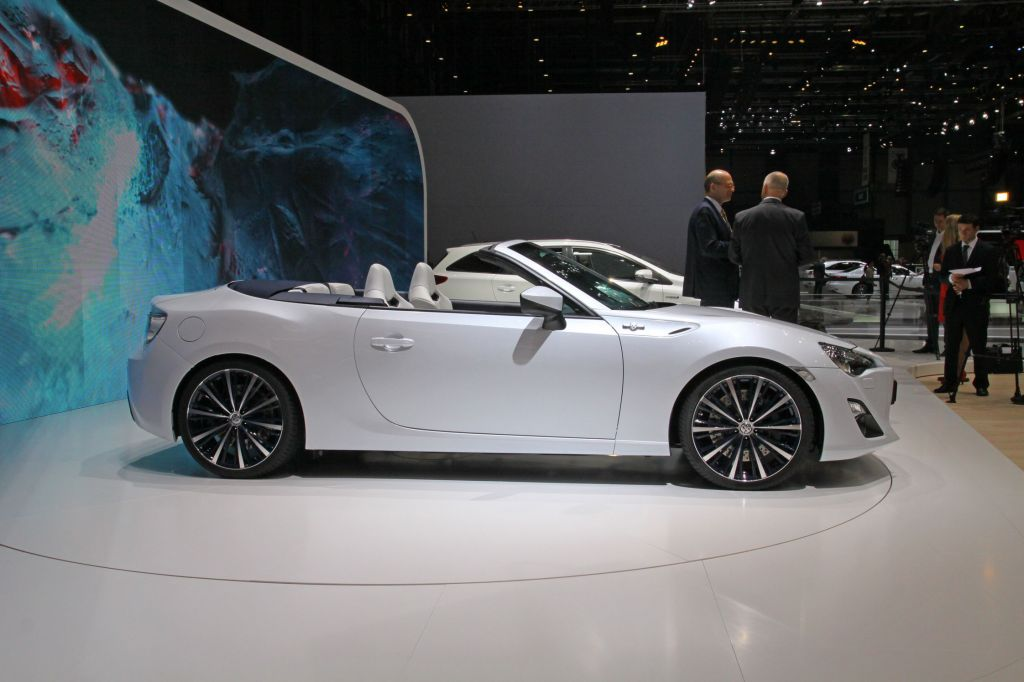 TOYOTA FT-86 OPEN Concept concept-car 2013
