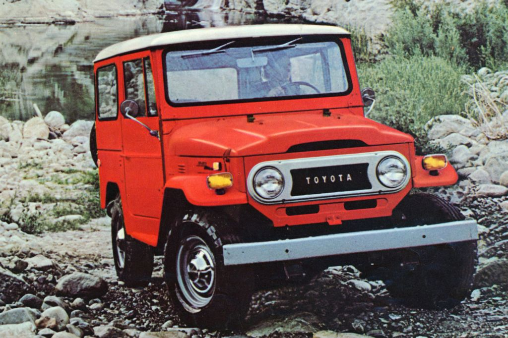 Toyota Land Cruiser 40 (1974)