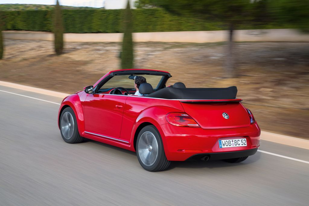 VOLKSWAGEN COCCINELLE (III (A5)) 2.0 TSI 200 cabriolet 2013