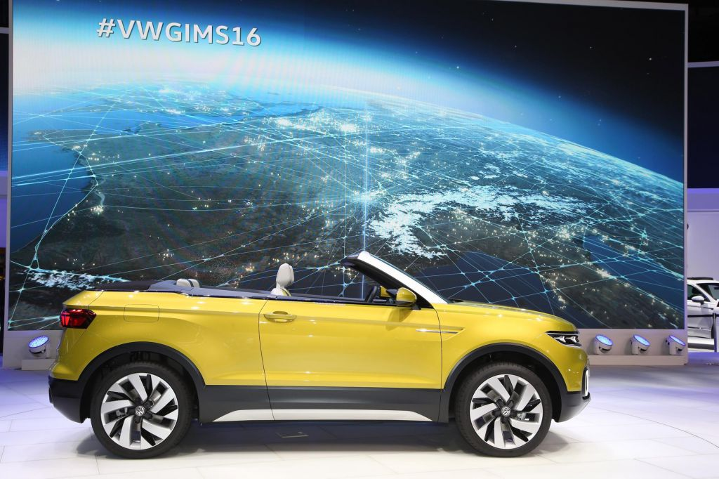 VOLKSWAGEN T-CROSS BREEZE Concept concept-car 2016