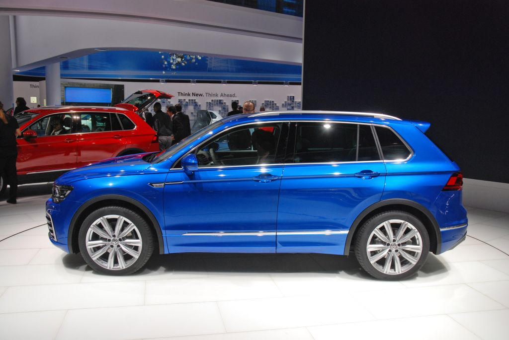 VOLKSWAGEN TIGUAN (II)  pick-up 2016