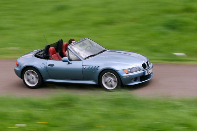 Photo BMW Z3 (E36) 2.8i Roadster 193ch cabriolet 1996 - médiatheque ...