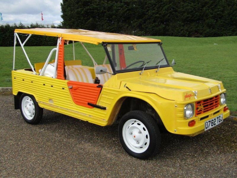 photo citroen mehari plage cabriolet 1987