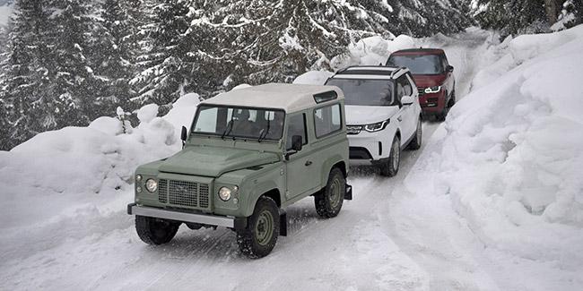 Land Rover a 70 ans : de la boue aux beaux quartiers