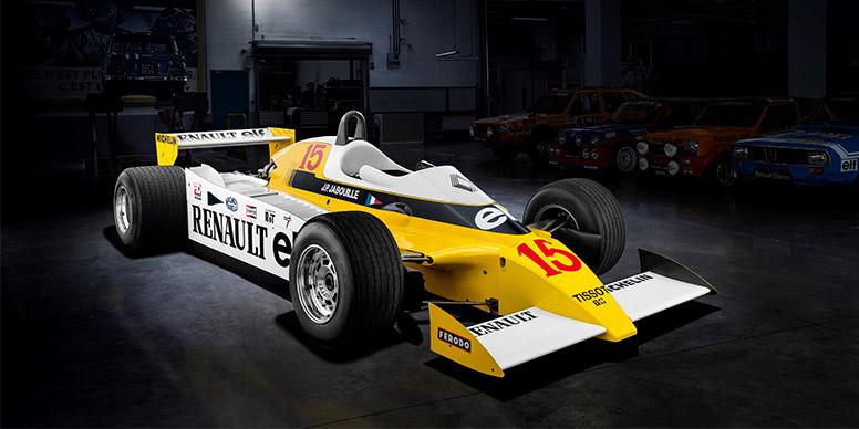 40 ans de victoires en turbo pour Renault