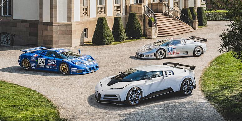 Bugatti : 110 ans de passion