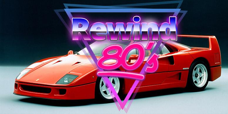 Les voitures qui ont marqué les années 80