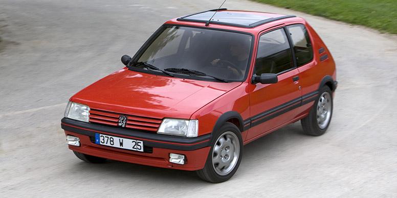 La saga des GTI Peugeot