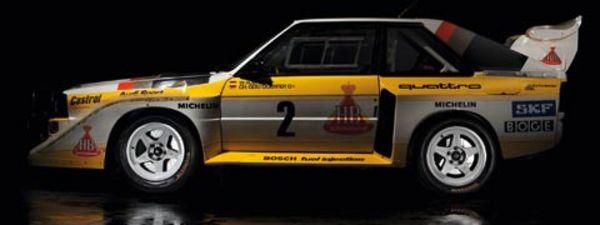 Audi Quattro : de la compétition à la route