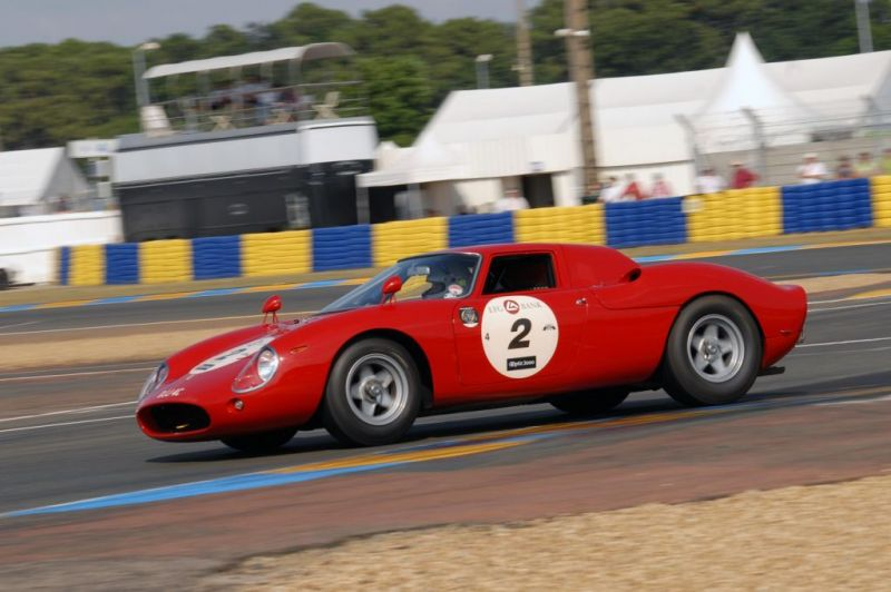Photo FERRARI 250 LM compétition 1963 - médiatheque Motorlegend.com