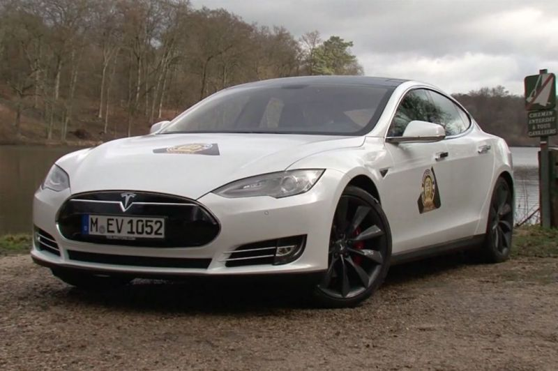 photo tesla model s p85 berline 2014 m diatheque. Black Bedroom Furniture Sets. Home Design Ideas