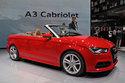 Présentation AUDI A3 Cabriolet 2014