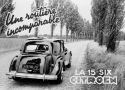 CITROEN TRACTION 15 Six D